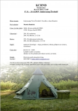 Tábor KCHND propozice